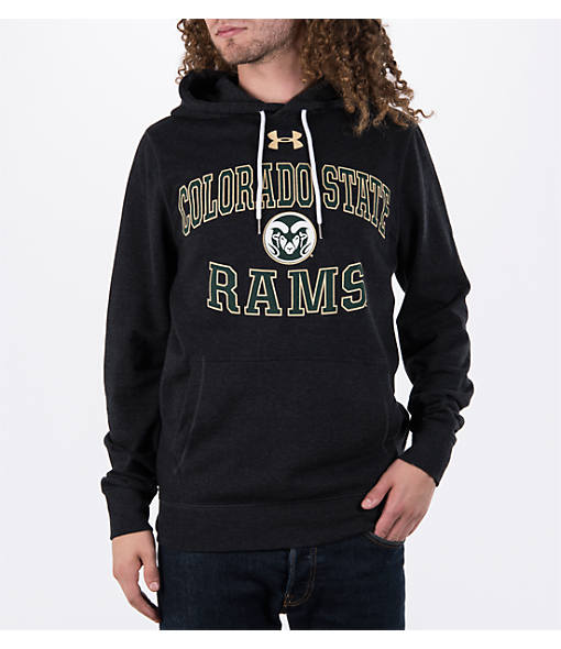 Men's Under Armour Colorado State Rams College Tri-Blend Fleece Hoodie