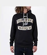 Men's Under Armour Navy Midshipmen College Tri-Blend Fleece Hoodie