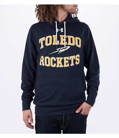 Men's Under Armour Toledo Rockets College Tri-Blend Fleece Hoodie