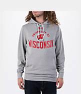Men's Under Armour Wisconsin Badgers College Tri-Blend Fleece Hoodie