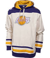 Men's Majestic Los Angeles Lakers NBA Double Technical Hoodie