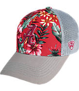 Top Of The World Alabama Crimson Tide College Ocean Front Fitted Cap