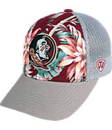 Top Of The World Florida State Seminoles College Ocean Front Fitted Cap