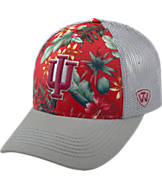 Top Of The World Indiana Hoosiers College Ocean Front Fitted Cap