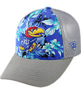 Top Of The World Kansas Jayhawks College Ocean Front Fitted Cap