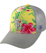 Top Of The World LSU Tigers College Ocean Front Fitted Cap