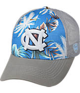 Top Of The World North Carolina Tar Heels College Ocean Front Fitted Cap