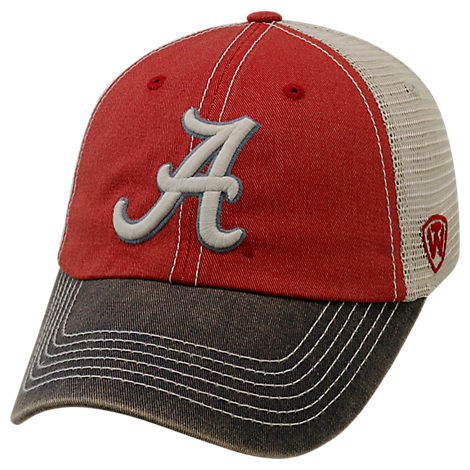 Top of the World Alabama Crimson Tide College Heritage Offroad Trucker Adjustable Hat