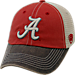 Front view of Top of the World Alabama Crimson Tide College Heritage Offroad Trucker Adjustable Hat in Three Tone Team Colors