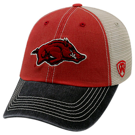 Top of the World Arkansas Razorbacks College Heritage Offroad Trucker Adjustable Hat