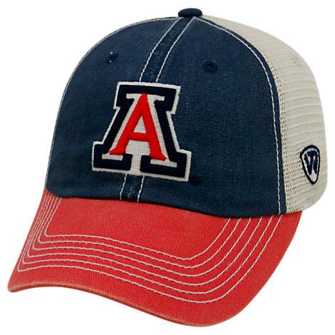 Top of the World Arizona Wildcats College Heritage Offroad Trucker Adjustable Hat