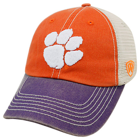 Top of the World Clemson Tigers College Heritage Offroad Trucker Adjustable Hat