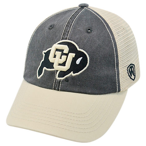Top of the World Colorado Buffaloes College Heritage Offroad Trucker Adjustable Hat