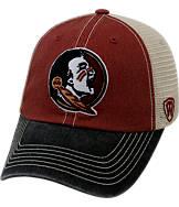 Top of the World Florida State Seminoles College Heritage Offroad Trucker Adjustable Hat