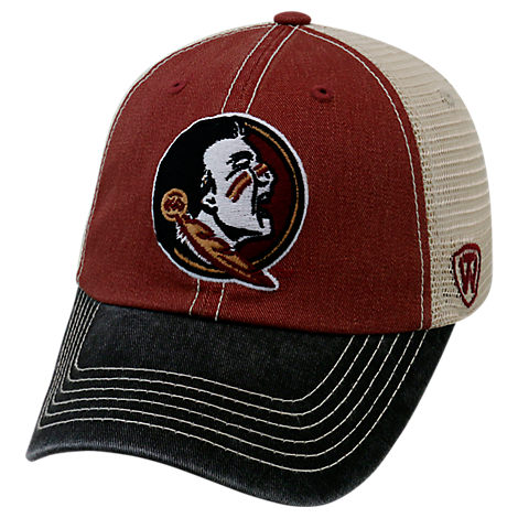 Top of the World Florida State Seminoles College Heritage Offroad Trucker Adjustable Hat