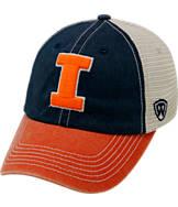 Top of the World Illinois Fighting Illini College Heritage Offroad Trucker Adjustable Hat