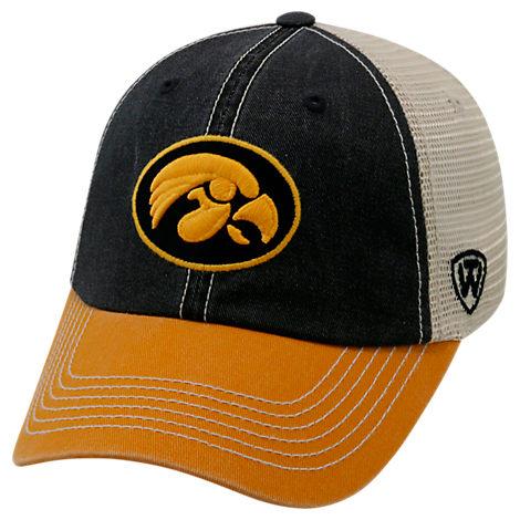Top of the World Iowa Hawkeyes College Heritage Offroad Trucker Adjustable Hat