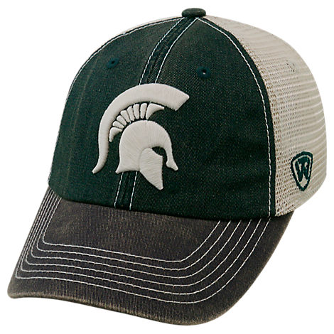 Top of the World Michigan State Spartans College Heritage Offroad Trucker Adjustable Hat