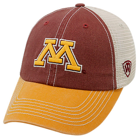 Top of the World Minnesota Golden Gophers College Heritage Offroad Trucker Adjustable Hat