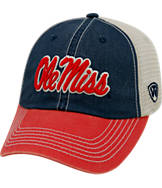 Top of the World Mississippi Rebels College Heritage Offroad Trucker Adjustable Hat