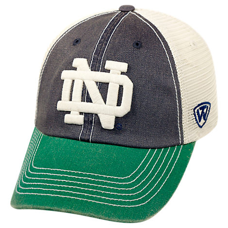 Top of the World Notre Dame Fighting Irish College Heritage Offroad Trucker Adjustable Hat