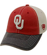 Top of the World Oklahoma Sooners College Heritage Offroad Trucker Adjustable Hat