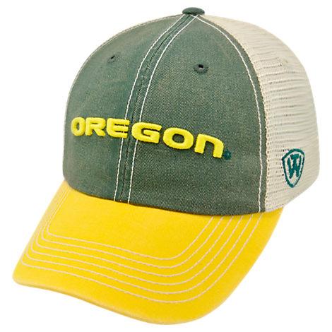 Top of the World Oregon Ducks College Heritage Offroad Trucker Adjustable Hat