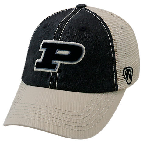 Top of the World Purdue Boilermakers College Heritage Offroad Trucker Adjustable Hat