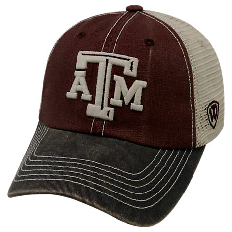 Top of the World Texas A&M Aggies College Heritage Offroad Trucker Adjustable Hat