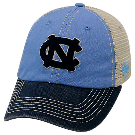 Top of the World North Carolina Tar Heels College Heritage Offroad Trucker Adjustable Hat