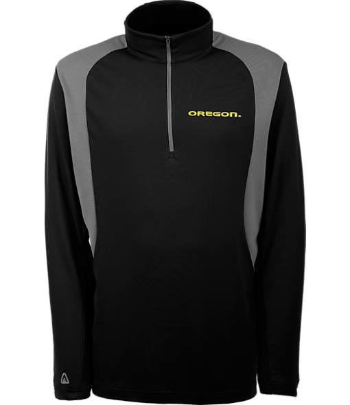 Men's Antigua Oregon Ducks College Delta Quarter Zip Shirt