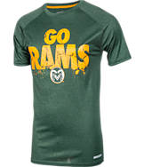 Men's Colorado State Rams College Cracked T-Shirt