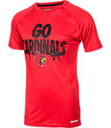 Men's Louisville Cardinals College Cracked T-Shirt