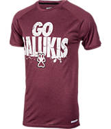 Men's Southern Illinois Salukis College Cracked T-Shirt