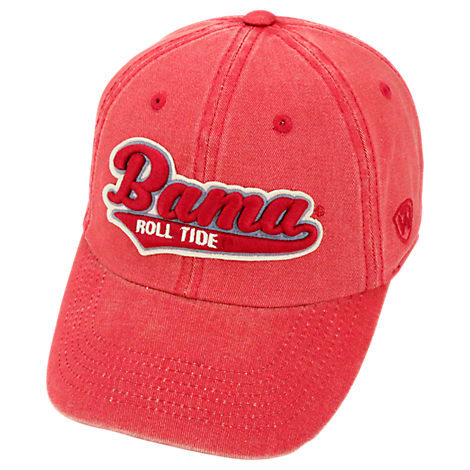 Top of the World Alabama Crimson Tide College Heritage Park Adjustable Back Hat