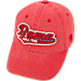 Front view of Top of the World Alabama Crimson Tide College Heritage Park Adjustable Back Hat in Team Colors