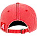 Back view of Top of the World Alabama Crimson Tide College Heritage Park Adjustable Back Hat in Team Colors