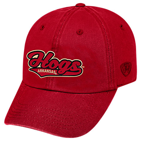 Top of the World Arkansas Razorbacks College Heritage Park Adjustable Back Hat