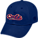 Front view of Top of the World Arizona Wildcats College Heritage Park Adjustable Back Hat in Team Colors