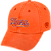 Front view of Top of the World Clemson Tigers College Heritage Park Adjustable Back Hat in Team Colors
