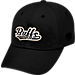 Front view of Top of the World Colorado Buffaloes College Heritage Park Adjustable Back Hat in Team Colors