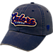 Front view of Top of the World Florida Gators College Heritage Park Adjustable Back Hat in Team Colors