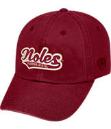 Top of the World Florida State Seminoles College Heritage Park Adjustable Back Hat
