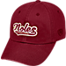 Front view of Top of the World Florida State Seminoles College Heritage Park Adjustable Back Hat in Team Colors