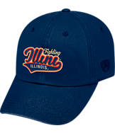 Top of the World Illinois Fighting Illini College Heritage Park Adjustable Back Hat