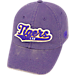 Front view of Top of the World LSU Tigers College Heritage Park Adjustable Back Hat in Team Colors