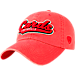 Front view of Top of the World Louisville Cardinals College Heritage Park Adjustable Back Hat in Team Colors