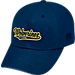 Front view of Top of the World Michigan Wolverines College Heritage Park Adjustable Back Hat in Team Colors