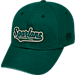 Front view of Top of the World Michigan State Spartans College Heritage Park Adjustable Back Hat in Team Colors