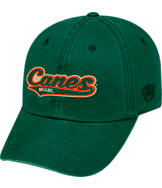 Top of the World Miami Hurricanes College Heritage Park Adjustable Back Hat